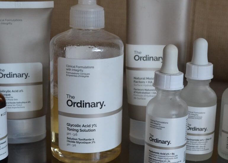 My Ordinary Skincare ROutine